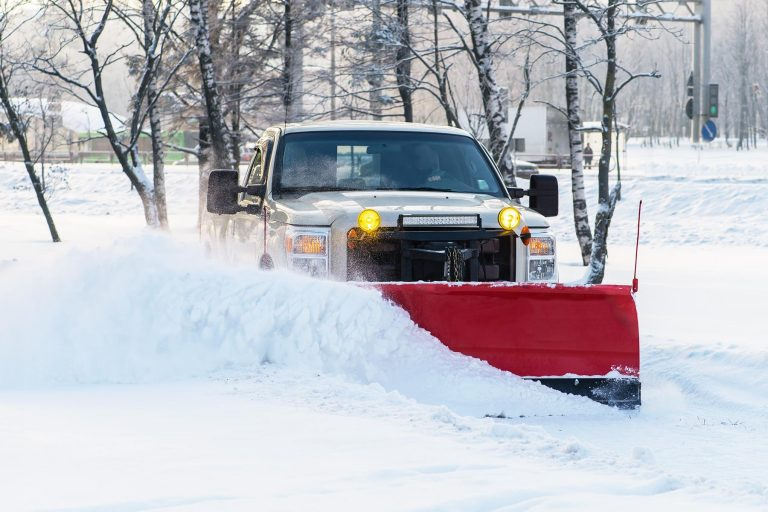Snow Plowing Uxbridge - A & A Property Maintenance